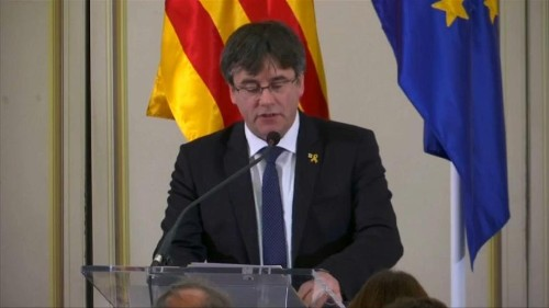 Former Catalan President must visit Madrid, and risk arrest, to activate MEP status