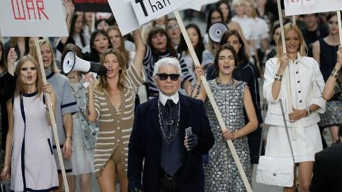 """Karl Lagerfeld se définissait comme un """"Européen"""""""