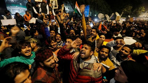 Activists clash with police in India's citizenship law protests