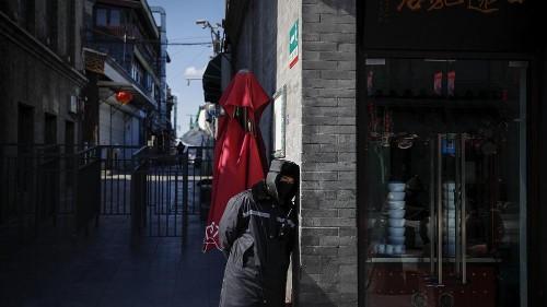 Coronavirus infection rate falling in China