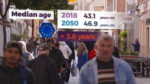 Face à la question de l'emploi des seniors dans une Europe qui vieillit