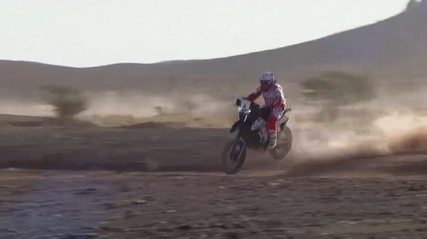 Carlos Sainz remporte la quatrième étape du rallye du Maroc