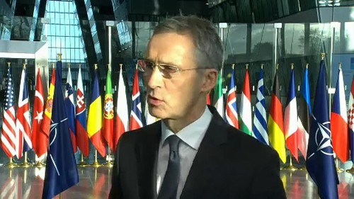 Russia takes centre-stage at NATO meeting in Brussels