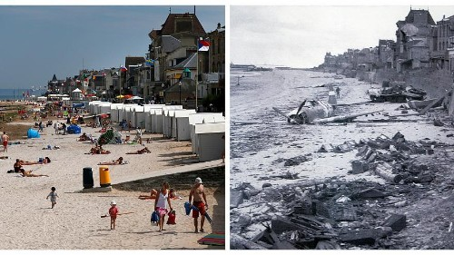 In pictures: How do some of the main locations involved in the D-Day landings look 75 years on?
