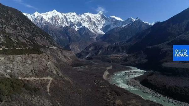 Schmelzende Gletscher in Tibet haben Folgen anderswo auf der Erde