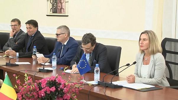 Federica #Mogherini rencontre ce lundi les ministres européens des Affaires étrangères. L'#Iran et la #Turquie devraient être au cœur des discussions.