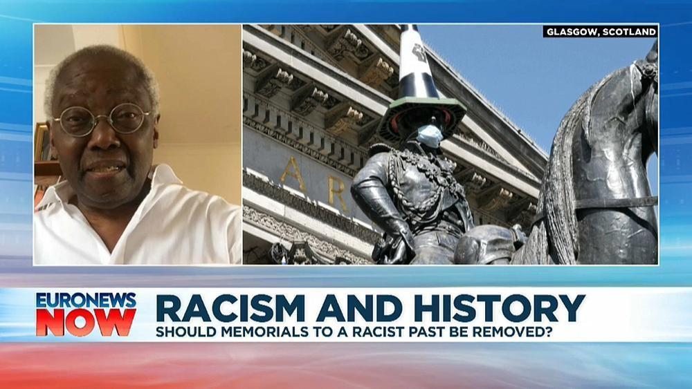 Sir Geoff Palmer: 'Don't take down statues – take down racism'