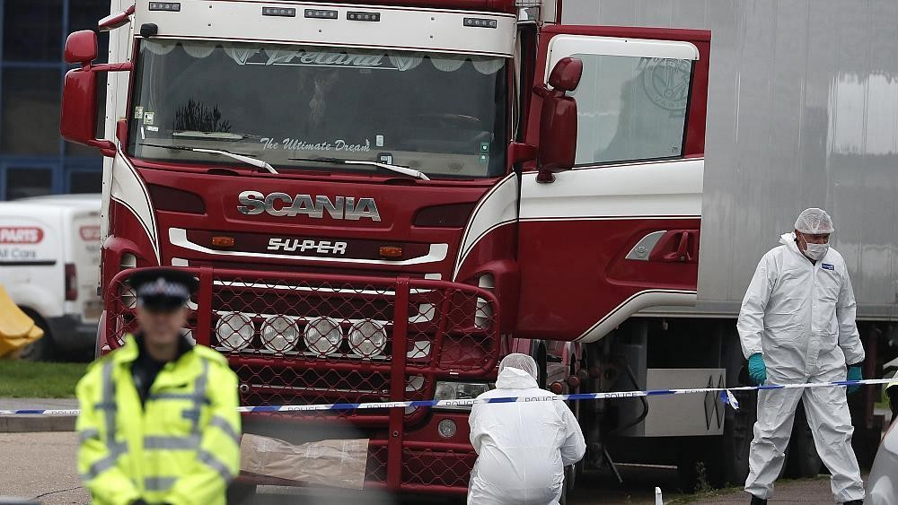 UK lorry deaths investigation makes 26 arrests in Belgium and France