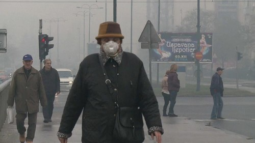 Sarajevo suffocates from air pollution