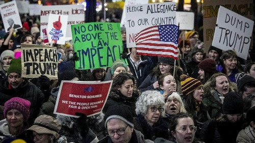 Breaking down the big impeachment rally mystery