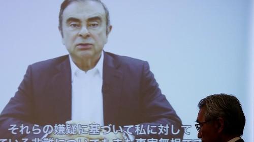 """Ex-Nissan-Chef Carlos Ghosn: """"Das ist eine Verschwörung"""""""