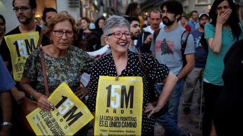 Madrid marks five-year anniversary of los Indignados