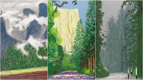 David Hockney teams with Indigenous artists for Yosemite exhibit