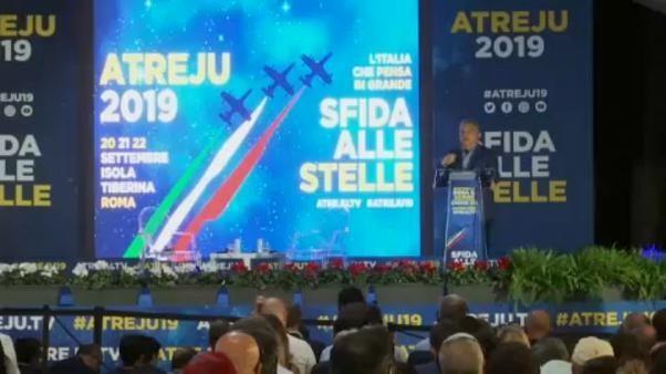 Extrême droite et populistes européens se retrouvent à Rome