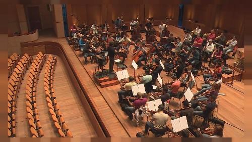 Dudamel'in dünyasında Simon Bolivar Orkestrası