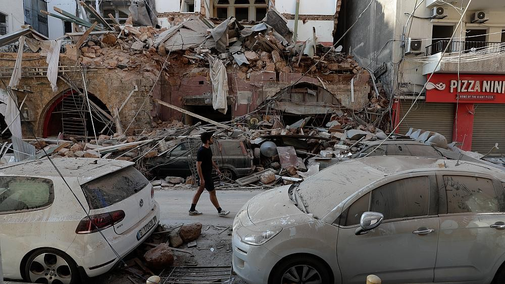 In pictures: Beirut suffers unprecedented damage following explosions