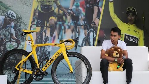 Tour de France winner Bernal gets hero's welcome in Colombian hometown