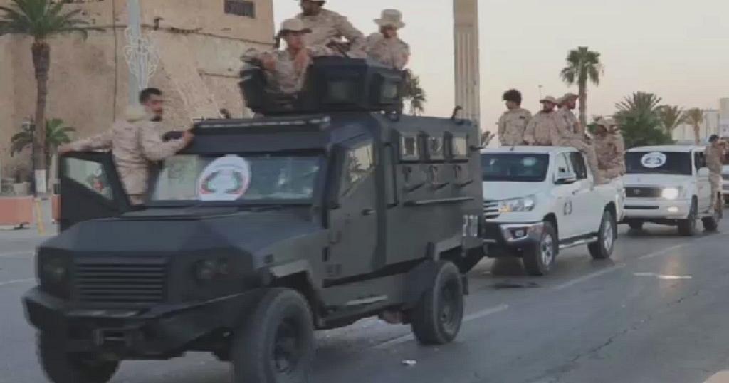 Libye : des milices fidèles au Gouvernement d'union nationale défilent à tripoli | Africanews