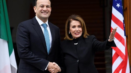 No UK-US trade deal if Brexit risks Good Friday agreement, Pelosi tells Irish lawmakers