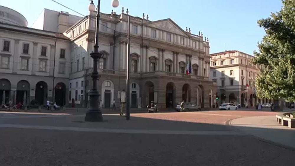 Italy's La Scala opera house reopens with social distancing