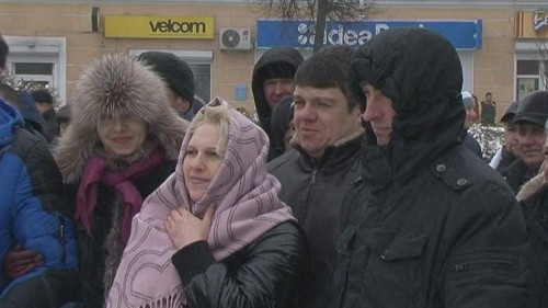 Protests in Belarus over 'social parasite tax'