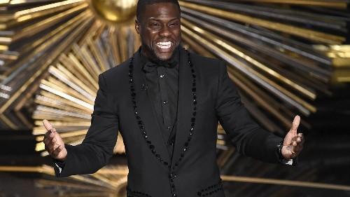 Oscar host Kevin Hart addresses backlash over homophobic tweets and jokes