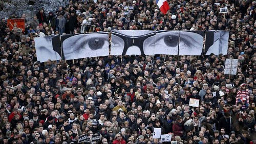 Marche historique à Paris, capitale mondiale de la résistance au terrorisme