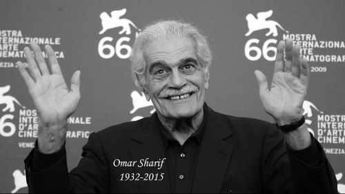 وفاة الممثل المصري عمر الشريف عن 83 عاما