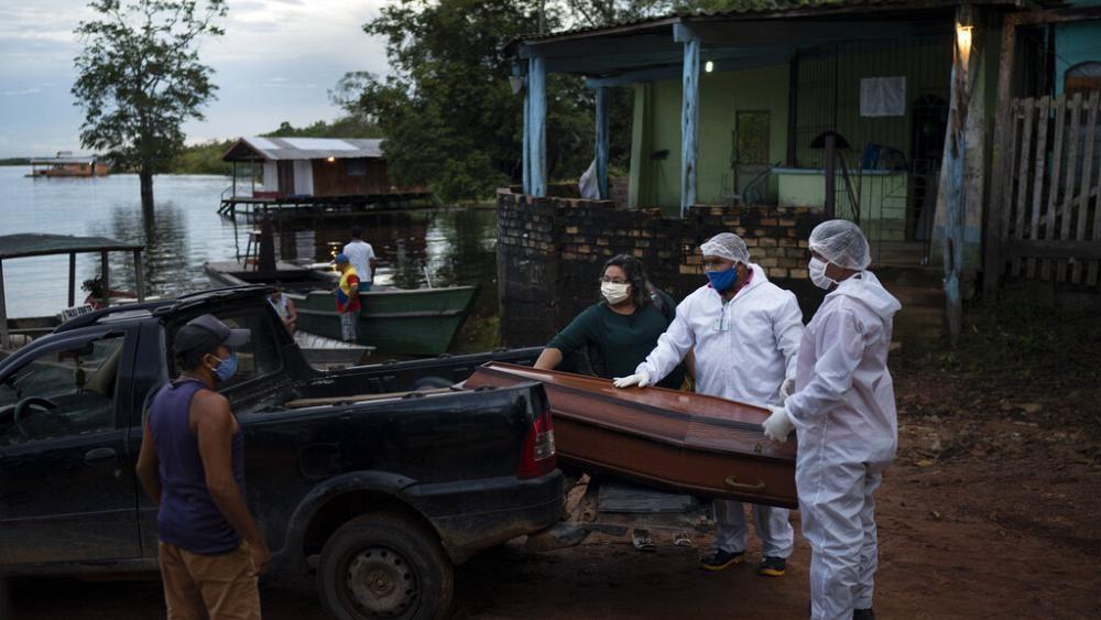 Taxa de contágio dispara 46% no Amazonas