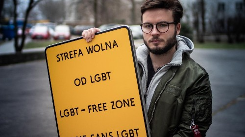 These photos highlight the human hurt over Poland's 'LGBT-free zones'