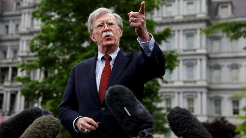 Bolton book remains stuck in White House classification review