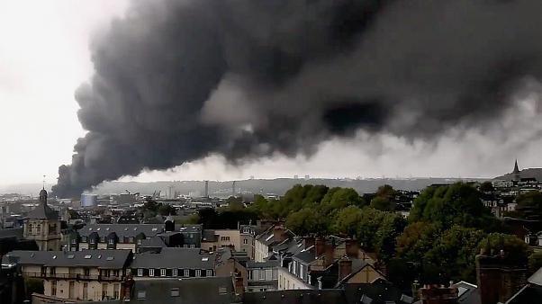 A Rouen, trois semaines après l'incendie de Lubrizol