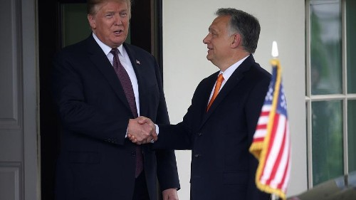 WATCH LIVE: Viktor Orban holds talks with Donald Trump at White House