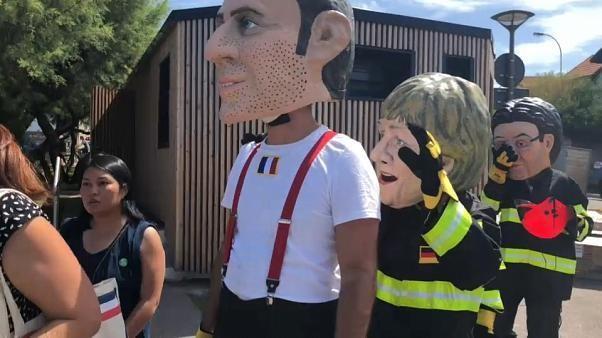 Ativistas preparam manifestações contra o G7