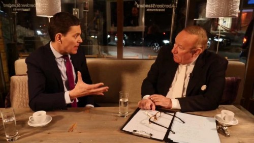 Is the centre-left dead? David Miliband with Andrew Neil | Uncut