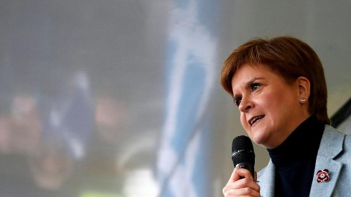 Scotland will be 'ripped from Europe' without independence: Sturgeon