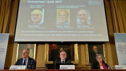 Physik-Nobelpreis für den Nachweis von Gravitationswellen