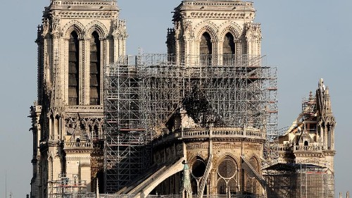 Watch again: Catholics carry out 'Way of the Cross' ritual around Notre Dame Cathedral