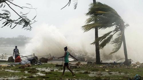 اعصار قوي يضرب ارخبيل فانواتو في جنوب المحيط الهادي