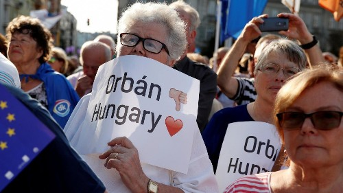 UK Tories' support for Orban - Shared values must be upheld in all EU countries | View