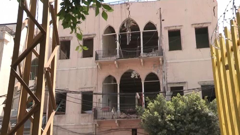 Esplosioni a Beirut - cover