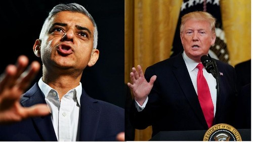 Trump renews Twitter attacks on Khan after three killed in London in just 24 hours