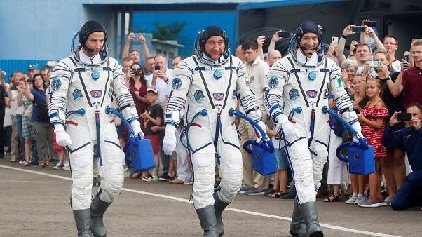 Astronauts headed to the International Space Station on anniversary of moon landing