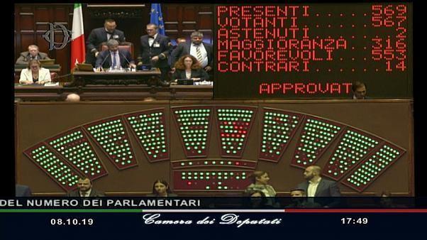 Italie : vers une suppression d'un tiers des parlementaires