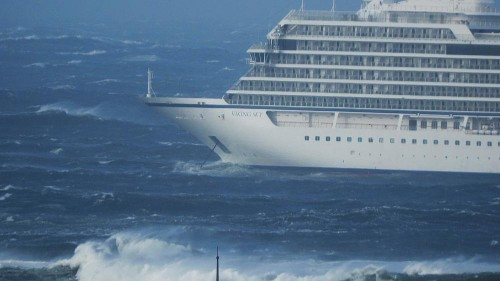 Disaster-dodging cruise ship's engines 'failed due to low oil levels'