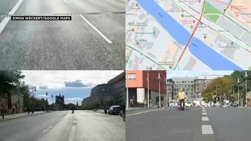 Il crée un embouteillage virtuel et trompe Google Maps par l'absurde