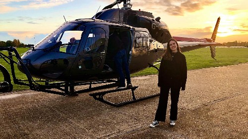 How green is the movie industry? I flew over London in a helicopter to find out