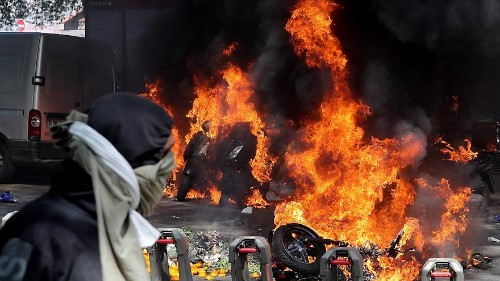 Gilets Jaunes: 137 arrested in Paris as protesters clash with police