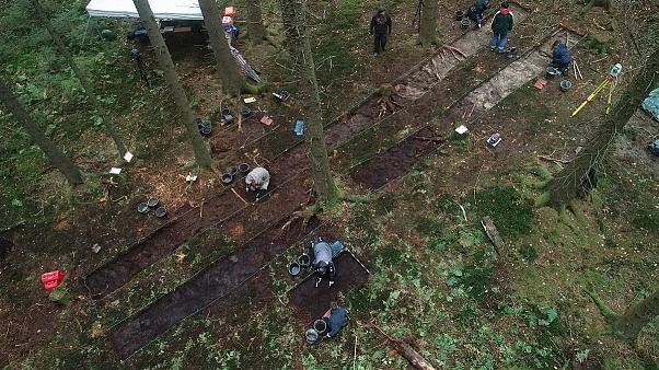 German archeologists unearth 400 artefacts from Nazi mass murder site