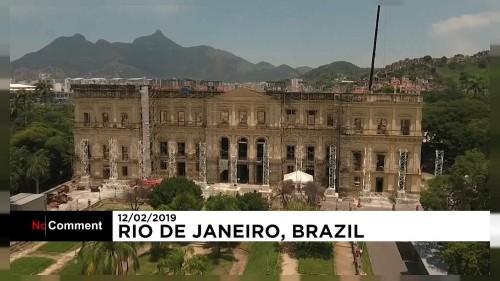 Nach Brand: brasilianisches Nationalmuseum wird umgebaut